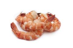 煮熟的虾尾标 免版税图库摄影