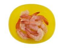 煮熟的虾 免版税库存照片