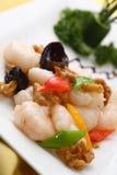 煮熟的虾 库存照片