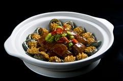 煮熟的鲍鱼 免版税库存照片