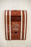 熄灭火面板位于的主题 免版税库存照片