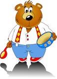 熊一点 免版税图库摄影