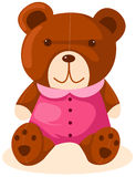 熊动画片女用连杉衬裤 图库摄影