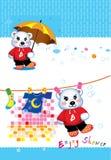 熊动画片 库存照片