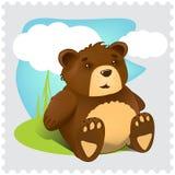 熊动画片 免版税库存图片