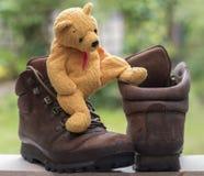 熊和起动 图库摄影