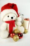 熊圣诞节女用连杉衬裤 免版税库存图片