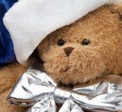 熊圣诞节女用连杉衬裤 免版税图库摄影