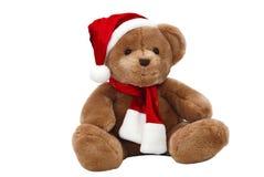 熊圣诞节查出的女用连杉衬裤 免版税库存图片