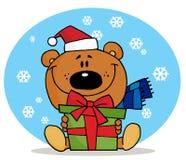 熊圣诞节 免版税库存图片