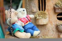 熊女用连杉衬裤二 免版税库存图片