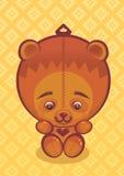 熊女用连杉衬裤 库存照片