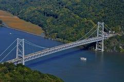 熊山桥梁, NY 免版税库存照片