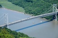 熊山桥梁 免版税库存照片