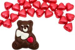 熊巧克力 免版税库存图片