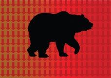 熊市-市场下来 免版税库存图片