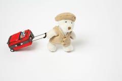 熊旅行 免版税库存照片