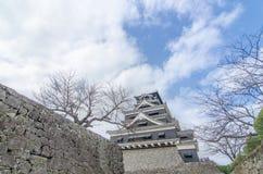 熊本城堡 免版税库存图片