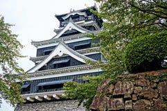 熊本城堡 图库摄影