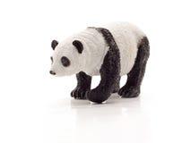 熊查出熊猫玩具 免版税库存图片