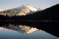 熊湖 库存图片