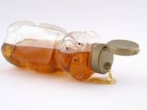 熊滴水蜂蜜 库存照片