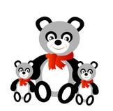 熊熊猫玩具 免版税库存图片