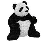 熊熊猫被充塞的玩具 免版税库存照片