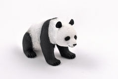 熊猫储蓄图象 免版税库存图片