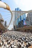 熊猫在曼谷 免版税库存照片