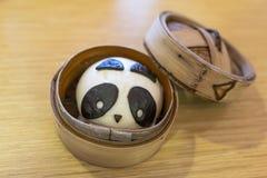 熊猫小圆面包 图库摄影