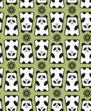 熊猫样式。 图库摄影