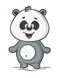 熊猫漫画人物 图库摄影