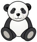 熊猫玩具 向量例证
