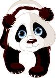 熊猫走 库存例证