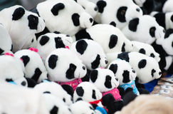 熊猫婴孩玩具 库存照片