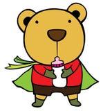 熊瓶看护 免版税库存照片