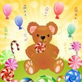 熊用糖果 免版税图库摄影