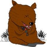 熊的例证 库存照片