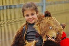 熊舞蹈游行19 库存图片