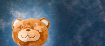 熊被伤害的女用连杉衬裤 免版税库存图片