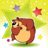 熊跳舞 免版税库存图片