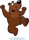 熊跳 库存照片