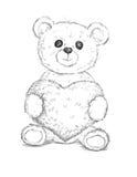 熊重点女用连杉衬裤 皇族释放例证