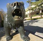 熊雕象 库存图片
