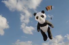 熊风筝 免版税库存图片