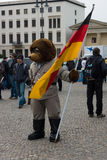 熊-柏林的标志 免版税库存照片
