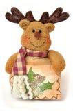 熊cristmass软的玩具 库存照片