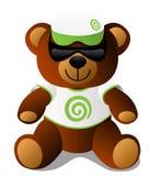 熊dt mascotte peluche女用连杉衬裤玩具 皇族释放例证