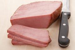 熏制的小牛肉 免版税库存图片